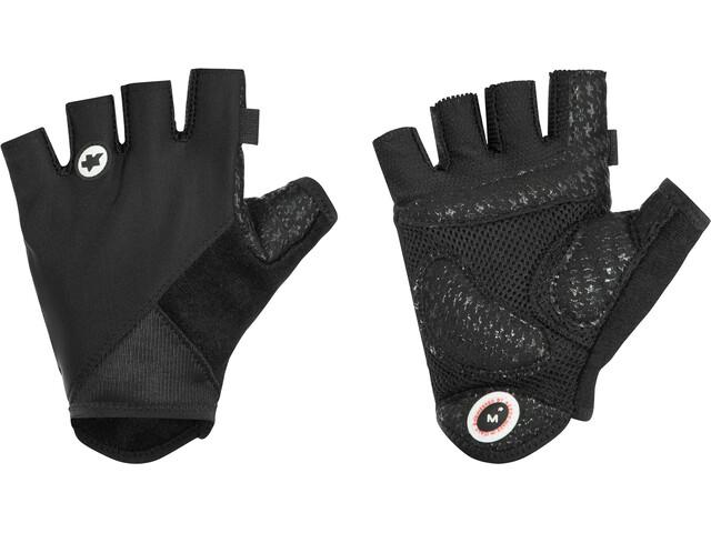 ASSOS summerGloves_S7, black volkanga